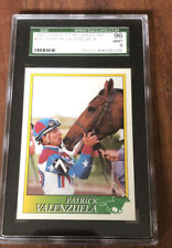 1993 HORSE STAR CARDS PATRICK VALENZUELA SGC 96 9  GRADED JOCKEY HORSE RACING