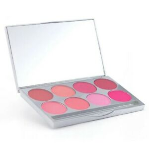 Graftobian Professional Make-Up Cool Pressed Powder Blush Palette 8 Colors