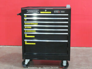 Proto 540S 7-Drawer Tool Cabinet Shop Equipment Storage Box Rollaway bidadoo