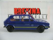 """Brekina 25515 VW Golf I (1974) """"THW/Ortsverband Bad Bergzabern"""" 1:87/H0 NEU/OVP"""