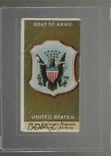 1888 Duke's Rulers Flags and Coats #USA United States Coat of Arms Card 0k5