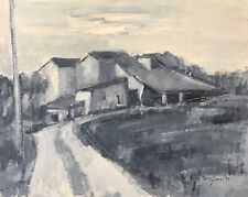Jean STRIGLIONI (1910-1994) peinture  paysage