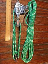 HARKEN 7:1 57MM HEXA RATCHET MAIN SHEET, VANG, BLOCK&TACKLE, PULLEYS W/40' LINE