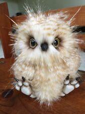 Ooak Bear, Ooak Owl, Ooak Realistic Bear, Ooak Realistic Owl