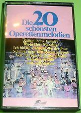 Die 20 schönsten Operettenmelodien (Musikkassette | MC)