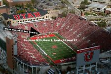Washington State Cougars at Utah Utes - Sept 28 - FRONT ROW CENTER NORTH ENDZONE