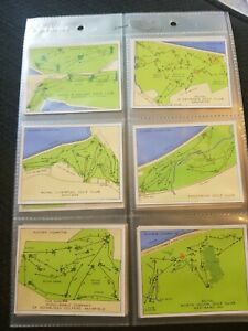 Championship Golf Courses (1936) John Player & Sons - Complete Your Set