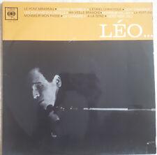 """33T Léo FERRE Vinyle LP 12"""" LE PONT MIRABEAU -LA FORTUNE -MON CAMARADE -CBS 217"""