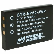 Wasabi Power Battery for Toshiba Camileo H10, H20, P10, P20, P30, S10