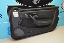 97-00 R170 MERCEDES SLK230 RIGHT PASSENGER DOOR PANEL ASSEMBLY BLACK COMPLETE