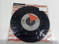 "Foreigner Urgent Girl On The Moon 7"" Single EX Vinyl Record K 11665 P/S"