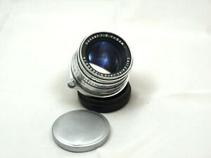 Carl Zeiss Jena 5cm f2 Sonnar red T M39, Leitz Leica Mount TESTED!