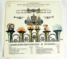 E. Power Biggs: Music for Organ, Brass & Percussion [VG++ Copy; DJ Copy]