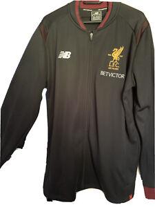 Jogginganzug Herren New Balance Liverpool F.C Hose Grösse XL -Jacke XXL- wie neu