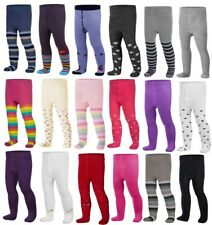 Baby BOYS GIRLS Cotton Mix Tights Leg Warmers Socks 0 - 36 Months & 3 - 6 Years