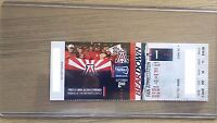 2017 Arizona Wildcats Football Official Mint Ticket Stub - pick any game!
