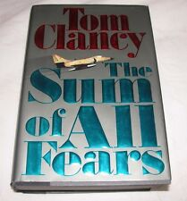The Sum of All Fears by Tom Clancy 1991, Hardcover, U.S.A