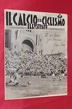 Rivista Sportiva IL CALCIO e il CICLISMO ILLUSTRATO Anno 1961 N°17 OMAR SIVORI