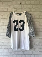 Mens Nike Air Jordon 3/4 Sleeve 23 Top Size S