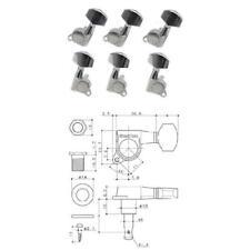 Gotoh Sgm-01 Set Meccanica per Chitarra acustica 3 3 cromate