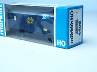 4409 MARKLIN HO-gauge ASG transport box car SJ