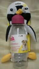 Petmate Penguin Booda Squeakbottle Dog Toy