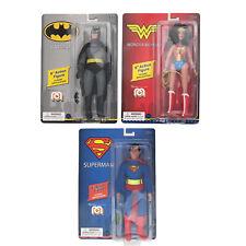 Marty Abrams Mego Heroes BATMAN SUPERMAN WONDER WOMAN Action Figure Lot 2020 DC