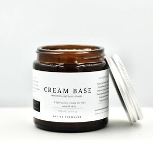 Moisturising Base Cream, DIY, Skin Care, Natural Base for Plant Oils Ingredients
