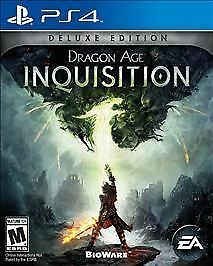 Dragon Age: Inquisition -- Deluxe Edition (Sony PlayStation 4, 2014)