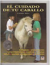 El cuidado de tu caballo Spanish Cherry Hill's Horse Care for Kids NEW