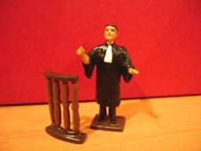 CBG mignot figurine AVOCAT droit civil justice tribunal lawyer lead toy soldier
