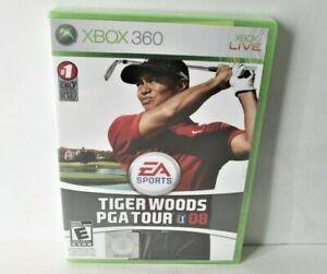 Tiger Woods PGA Tour 08 (Microsoft Xbox 360) Sealed Golf Game EA Sports