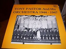 TONY PASTOR AND HIS ORCHESTRA 1944-1947-LP-NM-CIRCLE LABEL