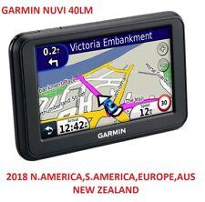 Garmin nuvi 40LM Gps 2018 EUROPE+USA,CANADA,MEX,AUSTRALIA,N.ZEALAND MAPS
