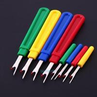 VS2# 8pcs Thread Cutter Seam Ripper Stitch Unpicker Sewing Tool(4 Large 4 Small)