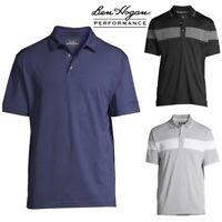 NEW Ben Hogan Performance Short Sleeve Printed Golf Polo Shirt Size  M - 3XL