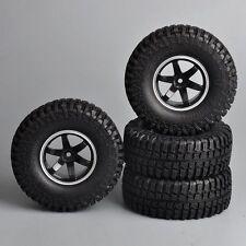 "12mm Hex 1:10 R/C Model Rock Crawler Car Tire Tyre Wheel Rims  1.9"""