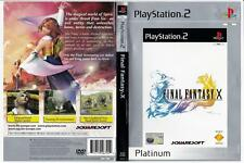 Final Fantasy X - Playstation 2. Complete