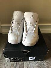Air Jordan Retro 13 Low White Metallic Silver 2.5Y