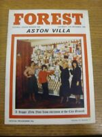 27/12/1980 Nottingham Forest v Aston Villa  . Thanks for viewing this item offer