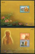 Thailand 2011 Buddhistischer Mönch Monks Blocks Postfrisch MNH