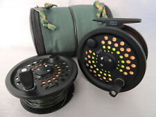 Scientific Anglers System 2 #12/13 Salmon Fly Fishing Reel + Spare Spool & Abu.