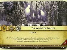 A game of thrones 2.0 LCG - 1x the Winds of invierno #025 - Base Set-Second EDI