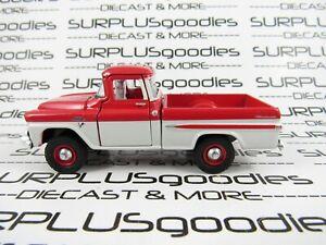 2020 M2 Machines 1:64 LOOSE Red & White 1959 GMC FLEETSIDE Pickup Truck 4X4