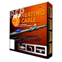 PFP-3M Frost Protection Heating Cable Kit C/W Thermosat & 13A Plug 3M Long 36W