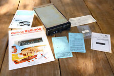 Vintage Aircraft Distance Computer In Box AS Shown Collins DCE 400 Untested ASIS