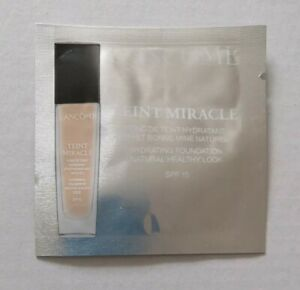 12 x Lancome Teint Miracle Hydrating Foundation in 03 Beige Diaphane SPF15 1ml