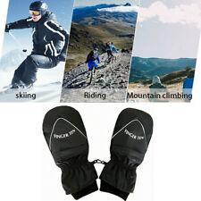 New listing Mens Ski Mittens Winter Snow Thermal Snowmobile Snowboard Gloves Waterproof -30℃