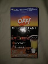 OFF! Mosquito Lamp Refills (2 Candles & 2 Repellent Diffusers) Insect Protection