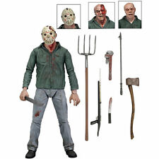 "Friday the 13th Part IV 3D JASON VOORHEES 7"" Scale Ultimate Action Figure USA"